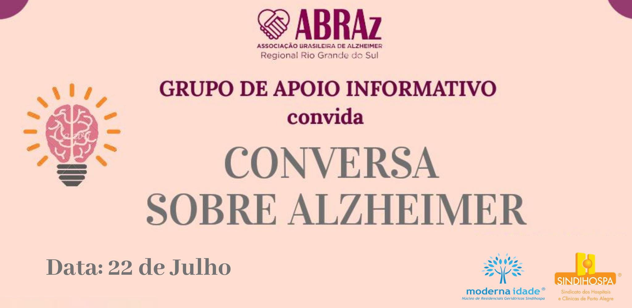 CONVERSA SOBRE ALZHEIMER